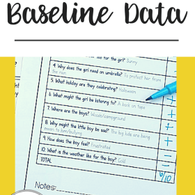 5 Secrets to Taking Great Baseline Data in Speech Therapy