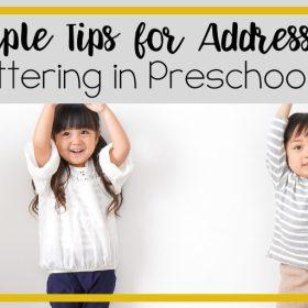 Stuttering in Preschoolers