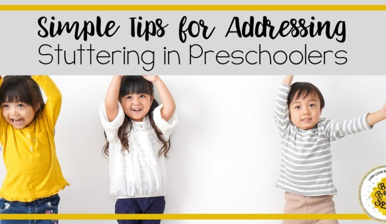 Simple Tips to Address Stuttering in Preschoolers