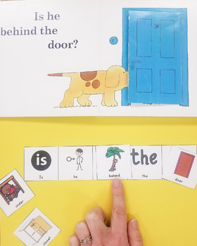 Visuals help support literacy-based speech therapy