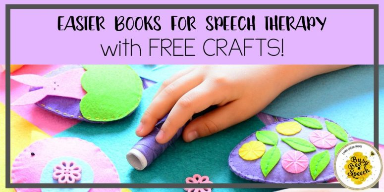 Easter books for speech therapy