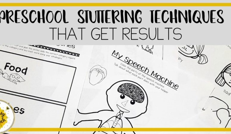 Expert Preschool Stuttering Therapy Techniques that Get Results