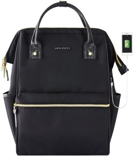 SLP black backpack from Amazon