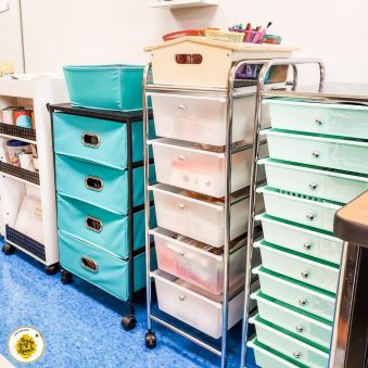 File drawers for classrooms