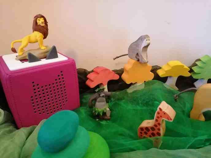 Tonie Box - Tonies - Creative Tonies - Audio player - Gruffalo - Stickman - Jungle Book - Lion King - small world play