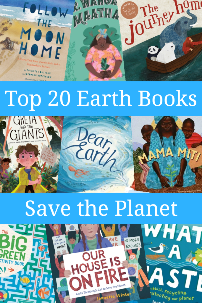 Top 20 books for earth day, saving the planet and helping the environment