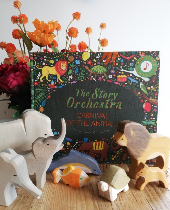 The Story Orchestra by Katy Flint and Jessica Courtney-Tickle - Carnival of the Animals with wooden animals