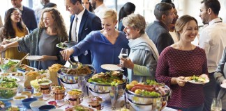 Corporate catering rebounds post-shutdown, pivoting to new services