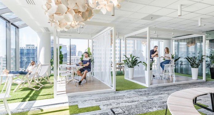 Smart technology is changing how people think about the office space