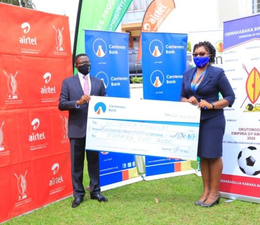Centenary Bank sinks UGX 496Million into the Masaza Cup Tournament