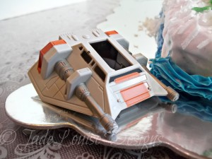 Star Wars Hoth Birthday Cake