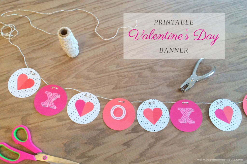 Printable Valentines Day Banner