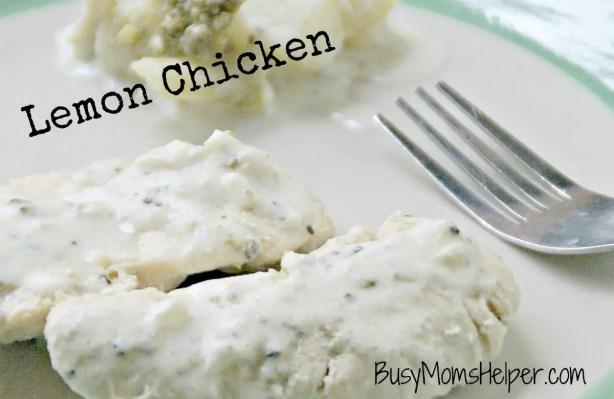 Lemon Chicken / Busy Mom's Helper