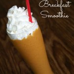 Pumpkin Breakfast Smoothie / Busy Mom's Helper
