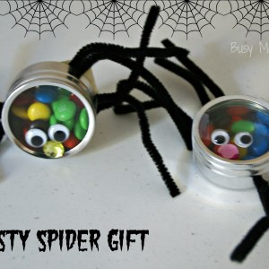 Tasty Spider Gift / Busy Mom's Helper