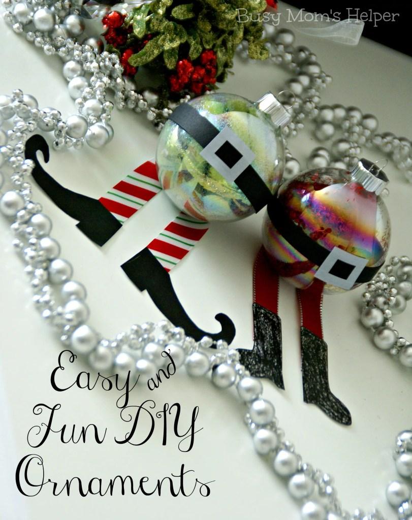 Easy & Fun DIY Ornaments / Busy Mom's Helper