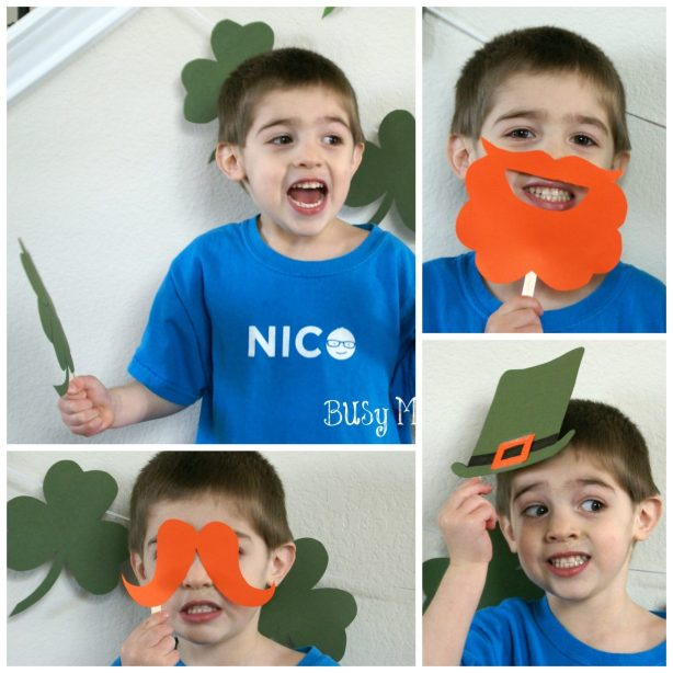 Free Printable St. Patties Day Photo Booth Props / Busy Mom's Helper
