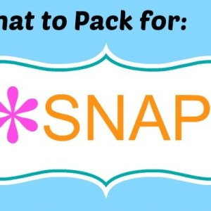 What to Pack for SNAP! Or Other Blogger Conferences / by www.BusyMomsHelper.com