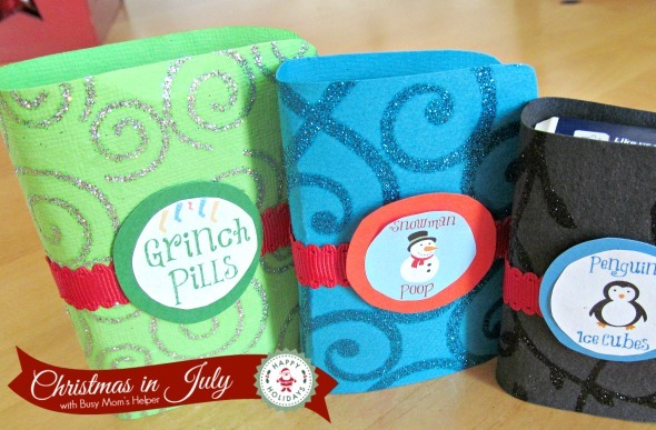 Christmas Tic Tacs / by Busy Mom's Helper #ChristmasinJuly #Gift #Grinch