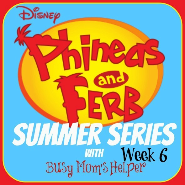Phineas & Ferb Summer Series: Week 6 / by Busy Mom's Helper #pfsummer #kidactivities #kidcrafts #summerfun