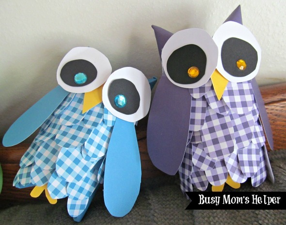 Make Your Own Toilet Paper Roll Owls Busy Moms Helper
