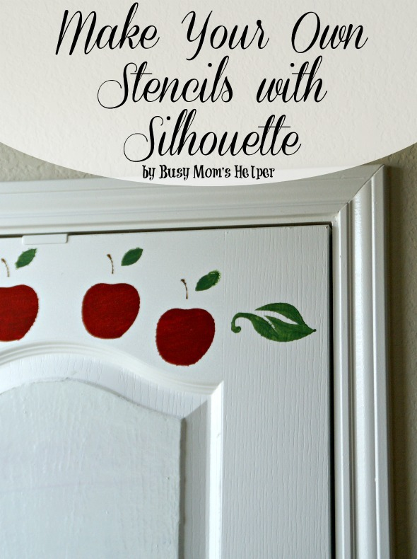 Make Your Own Stencils with Silhouette / by Busy Mom's Helper #stencils #silhouette #painting #decor