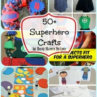 50+ Superhero Crafts