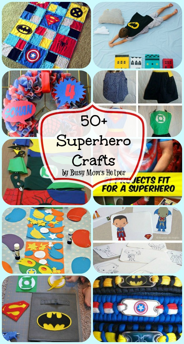 Superhero-Crafts