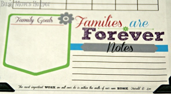 Family Home Evening Planner Printables / by Busy Mom's Helper #FHE #LDS #Planner #Printables
