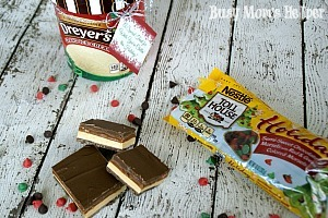 Chocolate Dessert Bar Holiday Recipe & Ice Cream Printable / by Busy Mom's Helper #HolidayMadeSimple #Ad #dessert #gift