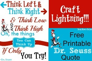 picture regarding Printable Dr Seuss Quotes referred to as No cost Printable Down load Dr. Seuss Quotation - Fast paced Mothers Helper