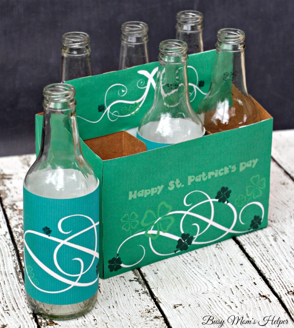 St. Patrick's Day Soda Bottle Printables / by Busy Mom's Helper