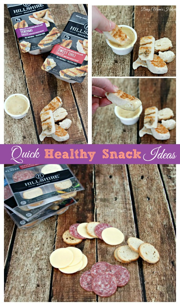 Quick Healthy Snack Ideas / by Busy Mom's Helper #CraftedSnacks #ad