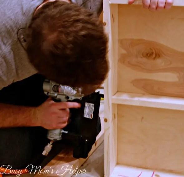 DIY Dish Display Cabinet / by Busy Mom's Helper #showmetheshine #ad