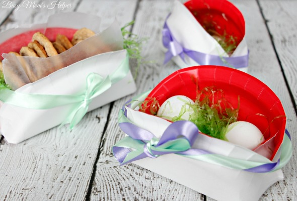 Paper Plate Easter Basket / by Busy Mom's Helper