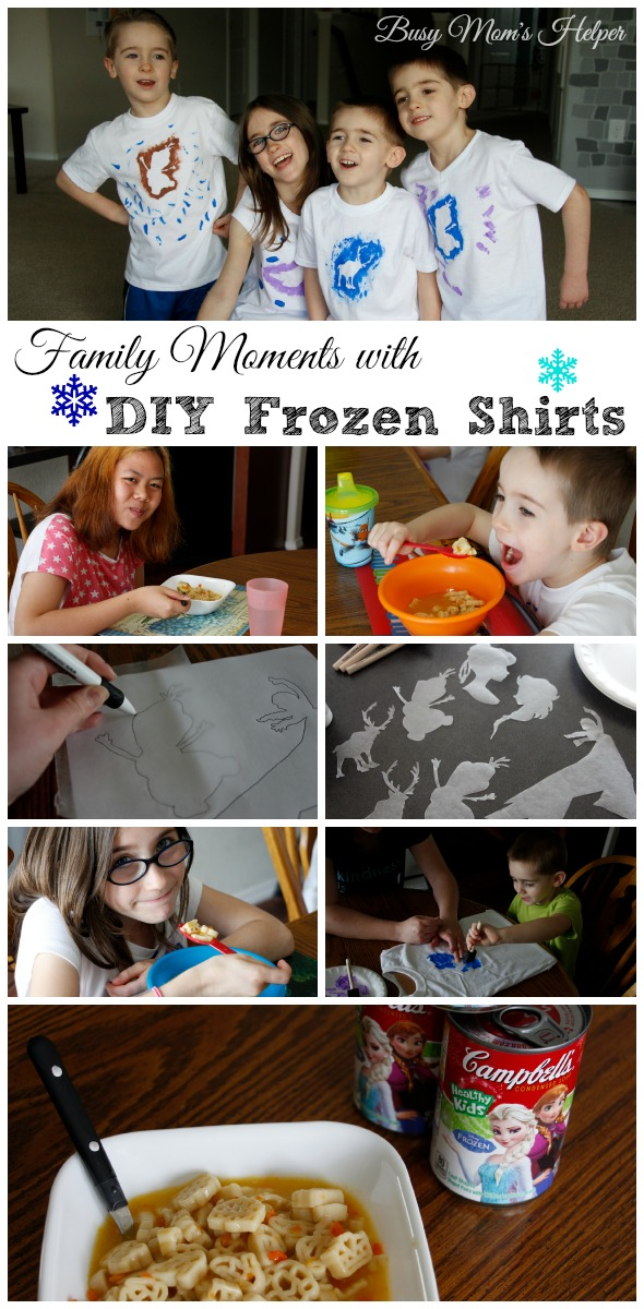 DIY Frozen Shirts / by Busy Mom's Helper #SouperPower #CleverGirls
