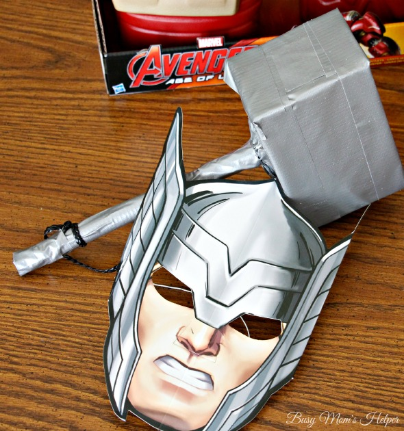The Avengers: Age of Ultron / Make Your Own Avengers Weapons / by Busy Mom's Helper #AvengersUnite #Ad