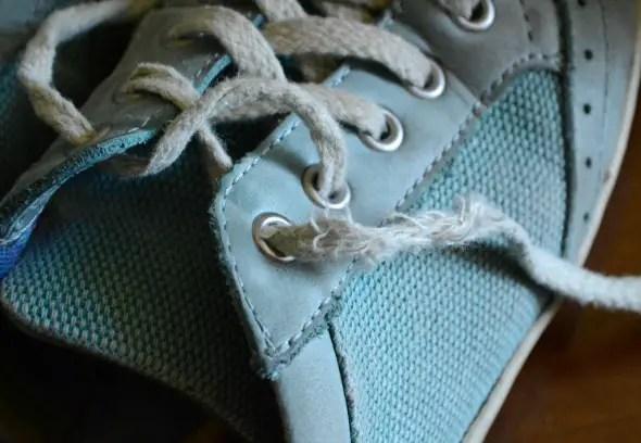 Fun Fabric Shoelaces
