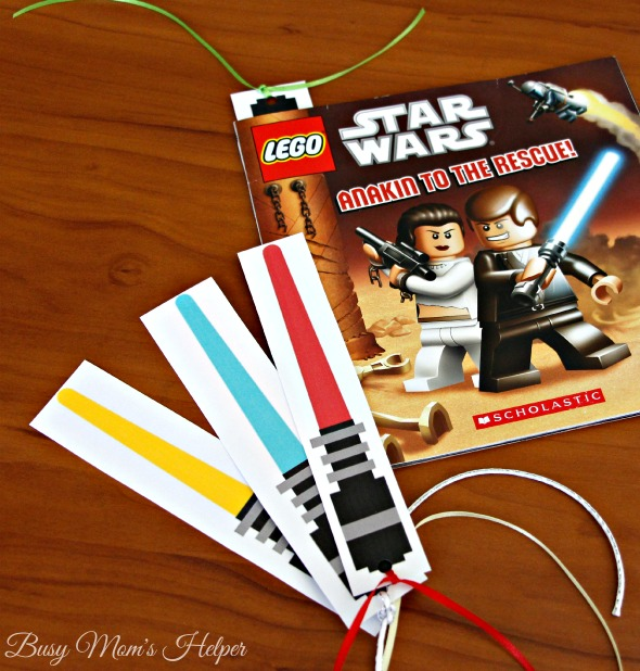 Star Wars Lightsaber Bookmarks / by Busy Mom's Helper / Free Printable for May the Fourth
