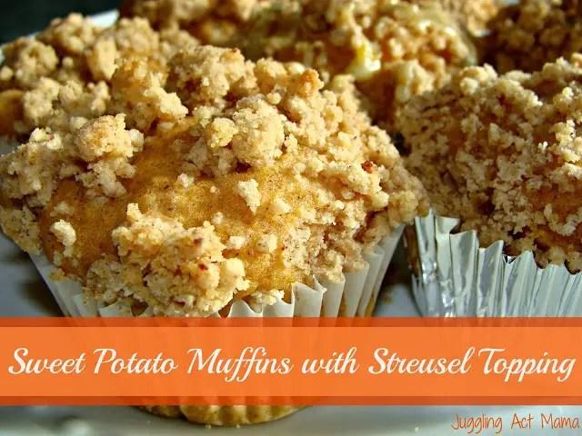 Sweet Potato Mufins