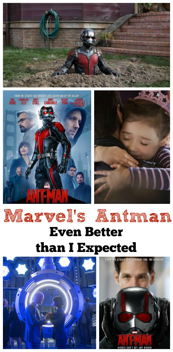 Antman: Even Better Than I Expected / by Busy Mom's Helper