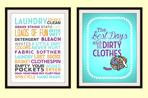 Free Laundry Printables at Juggling Act Mama