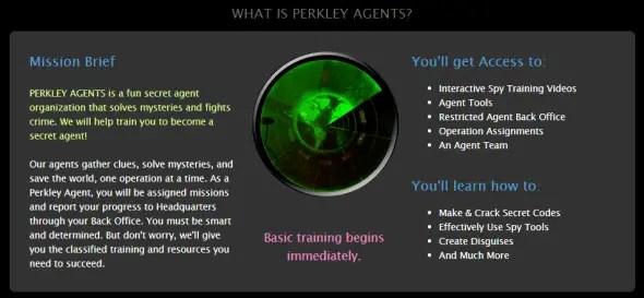 Secret Agent Headquarters: Let Your Kid Become a Spy / by Busy Mom's Helper / Perkley.com #spon