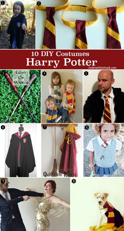 10 Harry Potter Costumes / by Andrea's Notebook