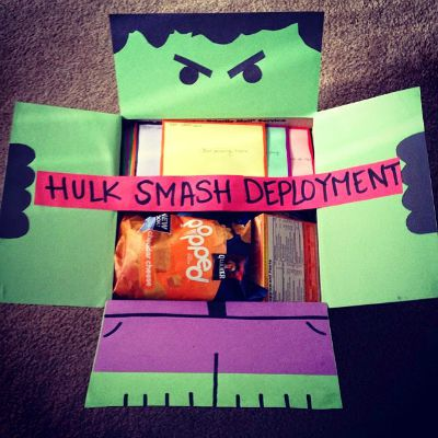 Hulk Care Package and other Superhero package ideas / Round up by Busy Mom's Helper
