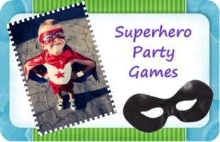 Superhero Party Games / by Queen of Theme Party Games / Round up by Busy Mom's Helper
