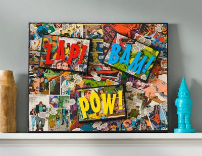 DIY Comic Book Canvas / by Mod Podge Rocks Blog / Round up by Busy Mom's Helper