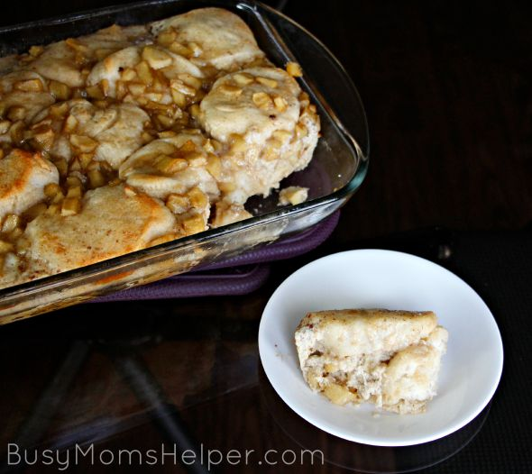 Apple Fritter Breakfast Casserole / by Busy Mom's Helper #LonestarEggs #ad
