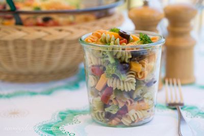Easy Pasta Salad / by Saving Room for Dessert / Round up by Busy Mom's Helper