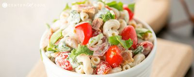 BLT Pasta Salad / by Center Cut Cook / Round up by Busy Mom's Helper